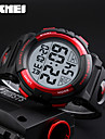 SKMEI Men\'s Sport Watch Digital Watch Japanese Digital Calendar Chronograph Water Resistant / Water Proof Noctilucent PU Band Black Green