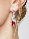 Women\'s Drop Earrings Elegant Costume Jewelry Fashion Statement Jewelry Crystal Alloy Drop Jewelry For Party Birthday Gift Daily