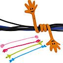 Недорогие Органайзеры для рабочего стола-рука рисунок намотки кабеля