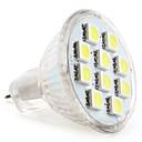 رخيصةأون لمبات السيارات LED-1PC 1 W LED ضوء سبوت 50-80 lm MR11 MR11 10 الخرز LED مصلحة الارصاد الجوية 5050 أبيض دافئ أبيض كول أبيض طبيعي 12 V