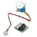 abordables Accessoires-5v 4-phase 5-wire stepper-moteur driver-board uln2003 pour arduino