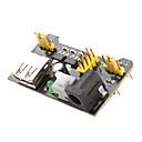 hesapli Aksesuarlar-Mb102 breadboard için 3.3v-5v güç kaynağı modülü (siyah)