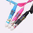 Недорогие Ручки и карандаши-Автоматическая шариковая ручка, 10 цветов (случайный цвет)
