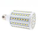 voordelige LED-kaarslampen-680lm E26 / E27 LED-maïslampen 102 LED-kralen SMD 5050 Warm wit 220-240V