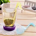 hesapli Çay Takımları-fonetik sembol şeklinde çay süzgeci filtresi (rastgele renk) bırakır