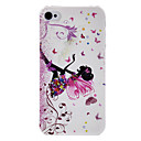 cheap iPhone Cases-Case For iPhone 4/4S / Apple Back Cover Hard PC for iPhone 4s / 4