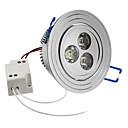 hesapli LED Tavan Işıkları-SENCART 6500lm Gömme Işıklar / Tavan Işıkları Gömme Uyumlu 3 LED Boncuklar Yüksek Güçlü LED Doğal Beyaz 85-265V / #