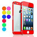 hesapli iPhone Stickerları-Ekran Koruyucu için Apple iPhone 6s / iPhone 6 / iPhone SE / 5s 1 parça Tam Kaplama Ekran Koruyucular