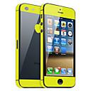 hesapli iPhone Stickerları-Ekran Koruyucu için Apple iPhone 6s Plus / iPhone 6 Plus / iPhone SE / 5s 1 parça Tam Kaplama Ekran Koruyucular
