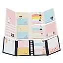 preiswerte Zubehör zum Zeichnen und Schreiben-Cartoon Falten selbstklebe note set (gelegentliche Farbe)