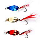 hesapli Makyaj ve Tırnak Bakımı-Tüyler Lure ile Renkli Balıkçılık Kanca (5 g, Renk ramdon)