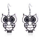 cheap iPod Cases/Covers-Women's Crystal Drop Earrings - Crystal, Silver Plated Owl, Animal Silver For Party Daily Casual