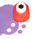 economico Attrezzature da ufficio-Mini Craft Punch (Plum Blossom)