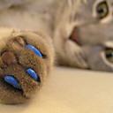 저렴한 강아지 의류 & 악세사리-고양이 미용 도구 건강 손톱깍이 레드 그린 블루 핑크 헌터 그린