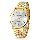 Buy Men's Watch Dress Concise Style Gold Round Dial Wrist Cool Unique Fashion
