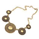 hesapli Kolyeler-Kadın's Açıklama Kolye - İfade, Avrupa, Moda Kolyeler Mücevher Uyumluluk Parti, Günlük