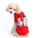 Χαμηλού Κόστους Ρούχα και αξεσουάρ για σκύλους-Σκύλος Πουλόβερ Ρούχα για σκύλους Μονόχρωμο Μάλλινο Στολές Για Χειμώνας Ανδρικά Γυναικεία Διατηρείτε Ζεστό Χριστούγεννα