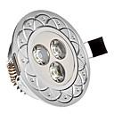 hesapli LED Gömme Işıklar-285 lm Gömme Işıklar 3 led Yüksek Güçlü LED Serin Beyaz AC 85-265V