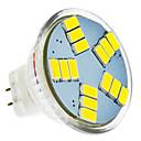 hesapli LED Spot Işıkları-420 lm LED Spot Işıkları MR11 15 LED Boncuklar SMD 5630 Serin Beyaz 12 V / #