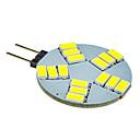 hesapli LED Mısır Işıklar-G4 LED Spot Işıkları 15 led SMD 5630 Serin Beyaz 330lm 5500-6500K DC 12V