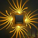 hesapli Duvar Işıkları-Duvar ışığı Ortam Işığı Duvar lambaları 3WW 90-240V Birleştirilmiş LED Modern/Çağdaş Eloktrize Kaplama