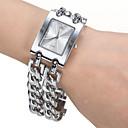 preiswerte Halsketten-Damen Quartz Band Silber - Silber