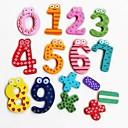 povoljno Kompasi-Šareni Funny Matematika Simbol Drveni magnete za hladnjak Obrazovni Toy (broj 0-9 i prijaviti)