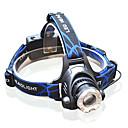 preiswerte Sturmhauben und Gesichtsmasken-3 Stirnlampen LED >200 lm 3 Beleuchtungsmodus inklusive Batterien und Ladegerät Zoomable- / einstellbarer Fokus Multifunktion
