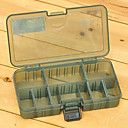 ieftine Cutii Pescuit-161 * 91 * 31mm Armata verde Fishing Box Tackle Box