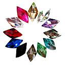 Buy 2Mixs Color Glitter Rhombus Rhinestone Nail Art Decorations