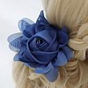hesapli Saç Takıları-Şifon / Kristal / Kumaş  -  Tiaras / Çiçekler 1 Düğün / Özel Anlar / Parti / Gece Başlık