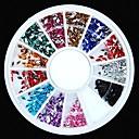 hesapli Makyaj ve Tırnak Bakımı-1 pcs Nail Jewelry Mevye / Çiçek / Soyut Sevimli Günlük Tırnak Tasarımı Tasarımı / Arkilik / Karikatür / Punk