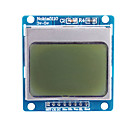"cheap Displays-1.6"" Nokia 5110 LCD Module with Blue Backlit for (For Arduino)"