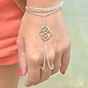 preiswerte Halsketten-Damen Bettelarmbänder Ring-Armbänder - Einzigartiges Design, Böhmische, Europäisch Armbänder Silber / Bronze Für Party Alltag Normal