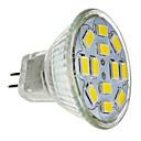billiga LED-spotlights-LED-spotlights 560 lm GU4(MR11) MR11 12 LED-pärlor SMD 5730 Dekorativ Kallvit 12 V / RoHs / CE