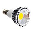 Недорогие Точечное LED освещение-1шт 6 W 250-300 lm E14 / GU10 / E26 / E27 Точечное LED освещение Светодиодные бусины COB Диммируемая Тёплый белый / Холодный белый / Естественный белый 220-240 V / 110-130 V