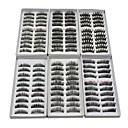 cheap Makeup & Nail Care-Eyelash Extensions False Eyelashes 120 pcs Volumized / Natural / Thick Eyelash Classic Daily Makeup Cosmetic