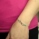 preiswerte Körperschmuck-Damen Bettelarmband Aleación Armband Schmuck Silber Für Party Alltag Normal