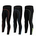 ieftine Îmbrăcăminte Cycling-Bărbați Bicicletă Pantaloni Dresuri Ciclism Respirabil Uscare rapidă Sport Spandex Negru / Verde / Negru / Albastru / Negru / Portocaliu Ciclism stradal Îmbrăcăminte Potrivire lejeră Îmbrăcăminte