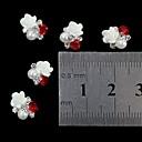 hesapli Makyaj ve Tırnak Bakımı-10 Nail Jewelry Diğer Süslemeler Mevye Çiçek Soyut Klasik Karikatür Sevimli Düğün Punk Günlük Mevye Çiçek Soyut Klasik Karikatür Sevimli
