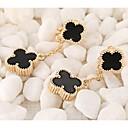 preiswerte Ohrringe-Damen Tropfen-Ohrringe - vergoldet Schwarz / Champagner Für Hochzeit Party Alltag