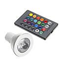 ieftine Faruri de Mașină-1 buc 3 W Spoturi LED 250-300 lm GU10 1 LED-uri de margele Decorativ RGB 85-265 V
