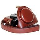 お買い得  ケース、バッグ & ストラップ-ソニーDCS-RX100 II平方メートル立方メートルのRX100 III RX100用のショルダーストラップ付きdengpin®革カメラケースライチパターン