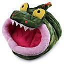 رخيصةأون معطف مطر-شكل جديد أسلوب نمط تمساح منزل الحيوانات الأليفة 36 * 34 * 25