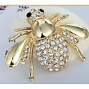 cheap Brooches-Women's - Rhinestone, Imitation Diamond Cute Brooch Golden For Wedding / Party / Daily