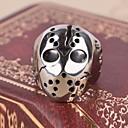 olcso Férfi gyűrűk-Férfi Nyilatkozat gyűrű Gyűrű Titanium Acél Ötvözet Koponya Nyilatkozat Személyre szabott Vintage Alkalmi Európai Divatos gyűrű Ékszerek Kompatibilitás