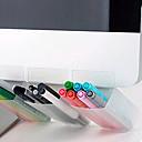 hesapli Araçlar ve Makinalar-Tek bir giriş için ofis bilgisayar monitörü taşınabilir kalem konteyner masaüstü ajanda saklama kutusu
