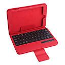 hesapli iPad Klavyeleri-ipad Mini 3 ipad Mini 2 ipad mini pu deri çanta w / bluetooth klavye