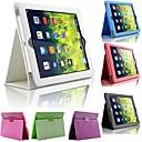 preiswerte Ringe-Hülle Für iPad Air mit Halterung Ganzkörper-Gehäuse Solide PU-Leder für iPad Air