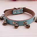 preiswerte Hundespielsachen-Hund Halsbänder Echtleder Schwarz Blau Rosa